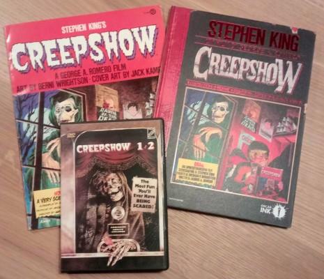 Creepshow in DVD, fumetto americano originale e edizione Mondadori