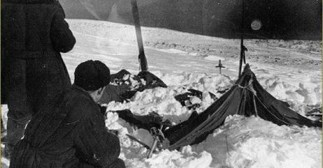 La tenda degli escursionisti